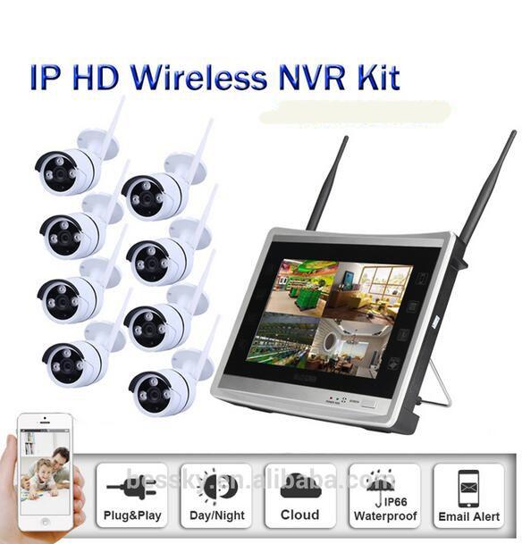 8CH NVR WIFI CCTV Security Camera System 8PCS 960P HD Outdoor Wireless CCTV Kit Video Surveillance System P2P ONVIF #Affiliate