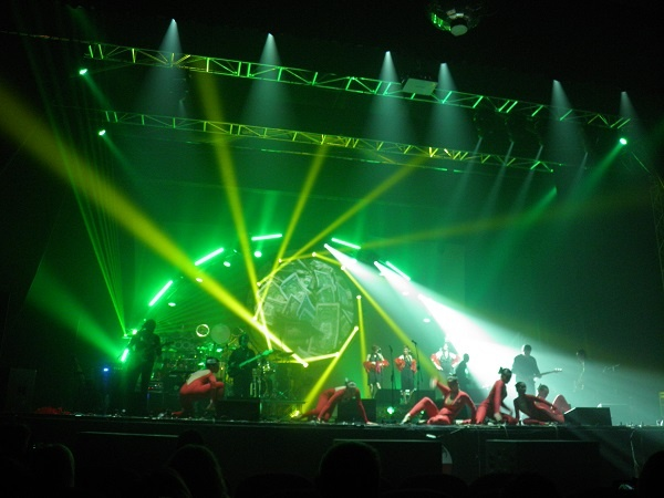 A great laser effect during Wit Matrix Concert!