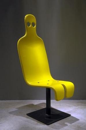 Roger Tallon Fauteuil  1967    Plastique et métal  Metal and plastic  44 x 128 x 72 cm  17,3 x 50,3 x 28,3 in