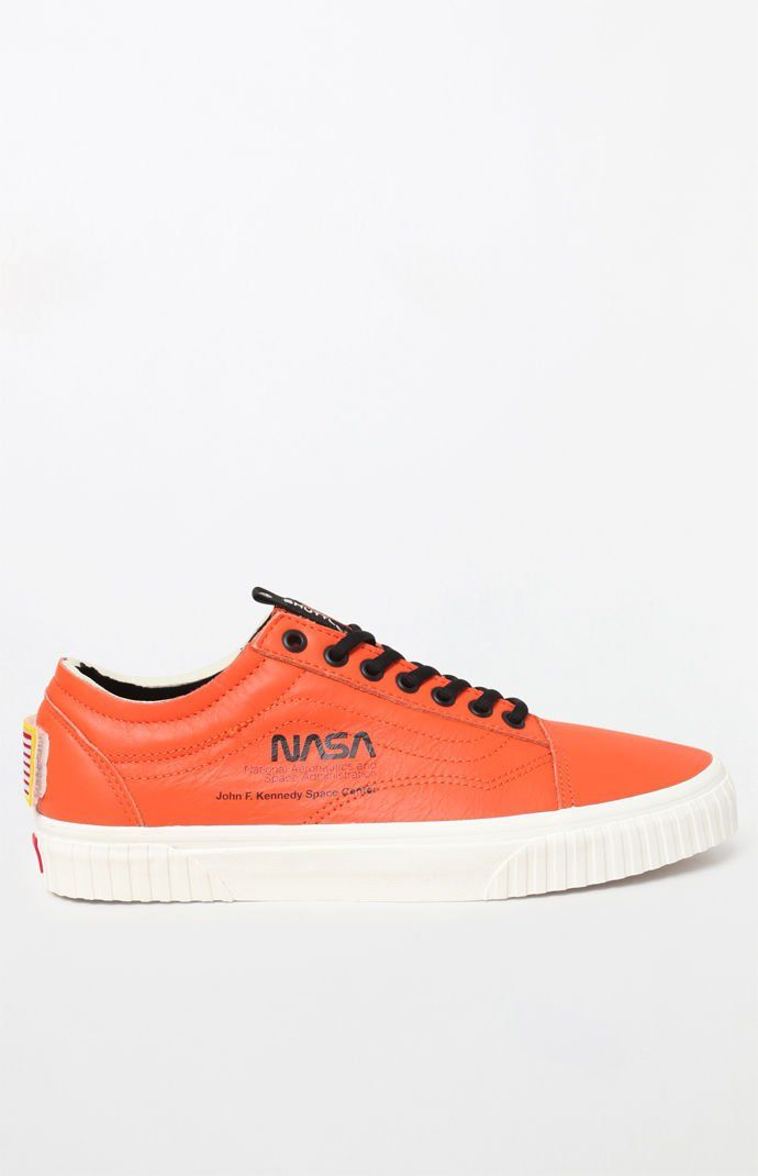 b697c80ccd x NASA Space Voyager Old Skool Orange Shoes. Find this Pin and more on VANS  OFF THE WALL ...