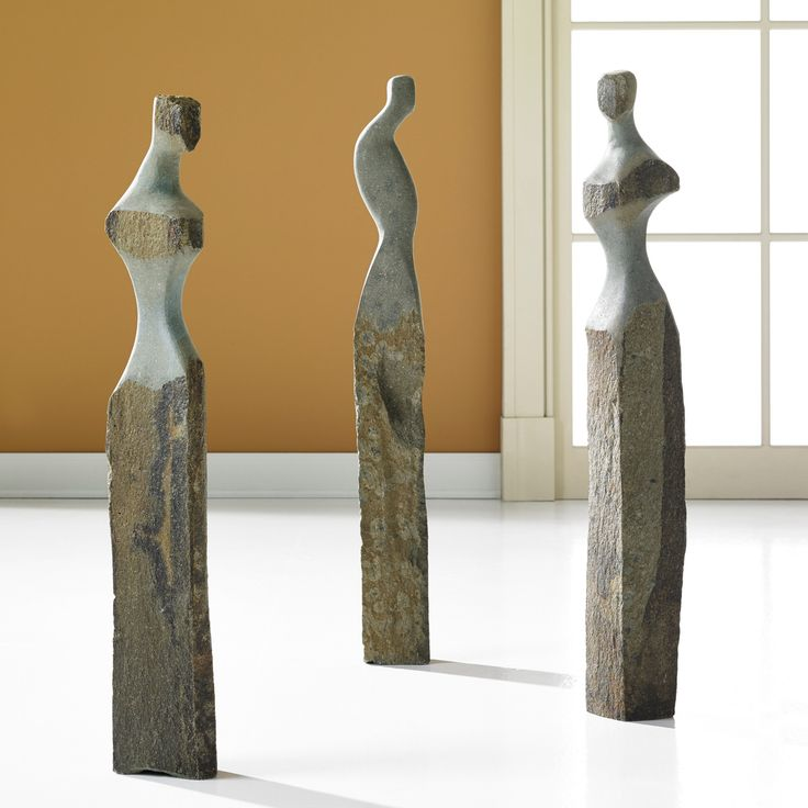Splinter stone sculptures by phillips collection