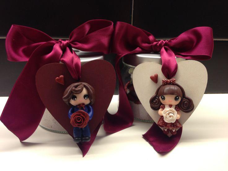 Valentino & Valentina Candle Holders