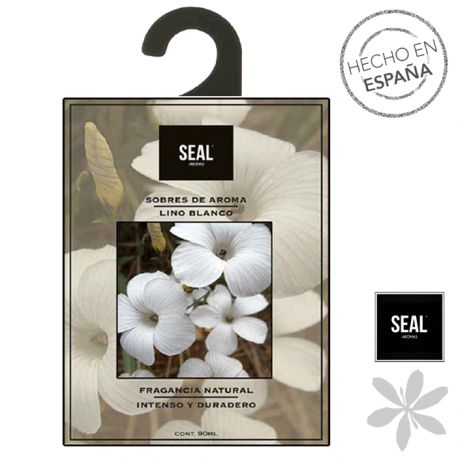"""""""LINO BLANCO"""" #Ambientador para armario. Difundirá un adorable aroma floral en los armarios, cajones o cuarto de baño. Fragancia """"lino blanco"""". 1,30 €"""