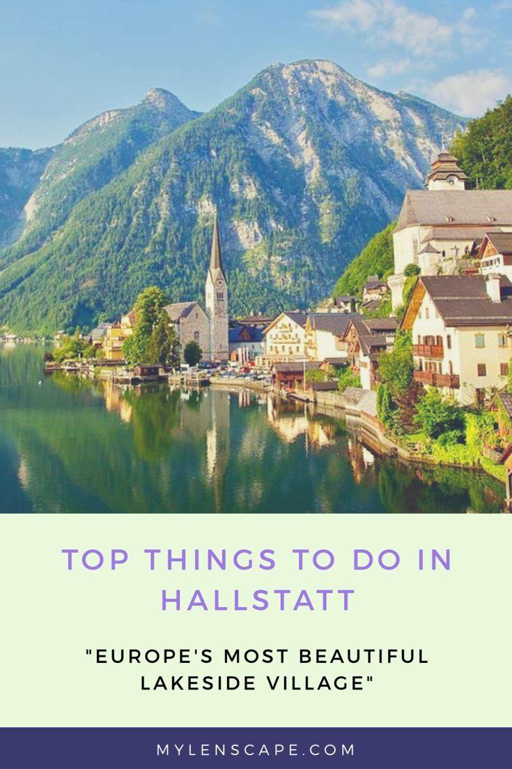 Explore the beauty of Hallstatt with Mylenscape ✨