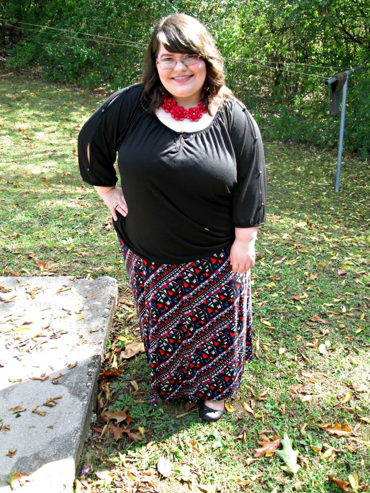 Unique Geek: Plus Size OOTD: Sunday Stained Glass #plussizefashion #plussize #plussizeoutfit #churchoutfit #plussize #maxiskirt:
