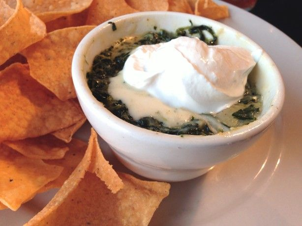 Make and share this Copycat of T.G.I. Friday's Hot Artichoke and Spinach Dip recipe from Food.com.