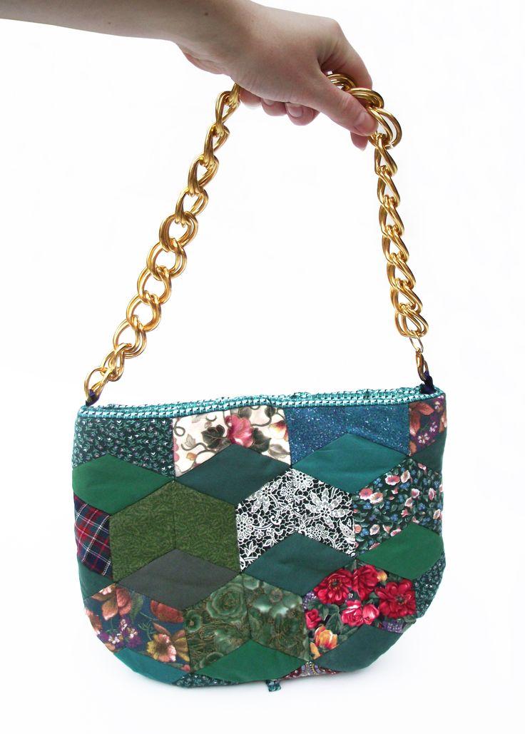 Patchwork+tea+cosy+handbag, £60.00