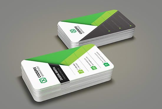 design professional  Double sided business card for you