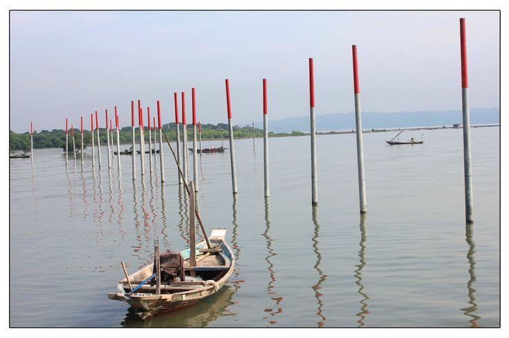Fisherman Boat at Surabaya Shore