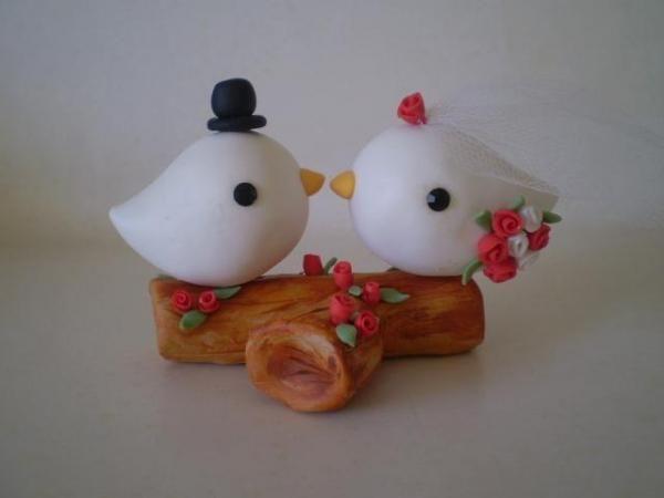 Noivinhos topo bolo aracaju - artesanum com