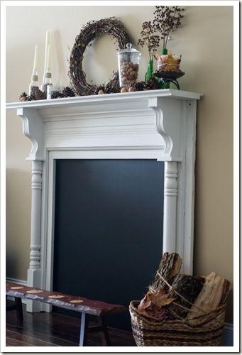Top 25 best Fake fireplace mantel ideas on Pinterest Fake