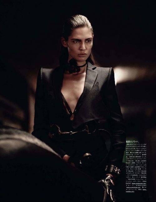 Марк Сигал для Vogue Nippon: Сапоги и седла