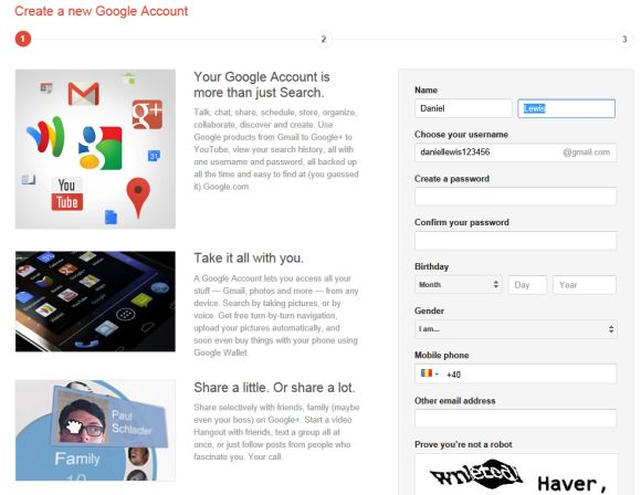 Create a Gmail Account | Gmail Login – If you have registered with Google  or are