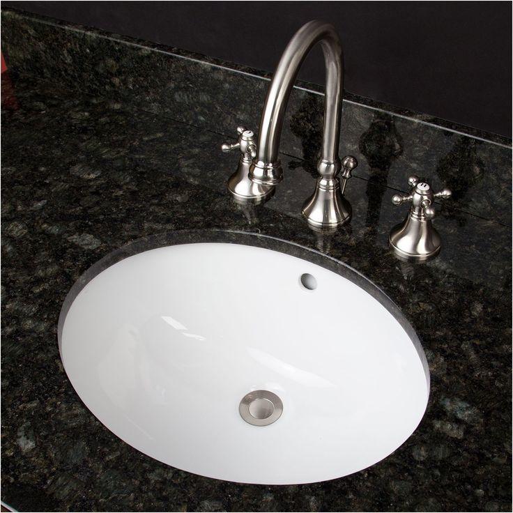 18 oval porcelain undermount bathroom sink bathroom from Bathroom Sink Undermount