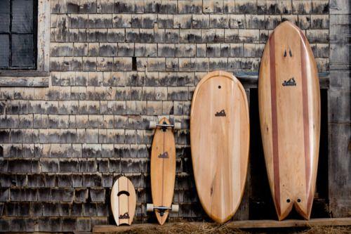 Patienetas y tablas de surf