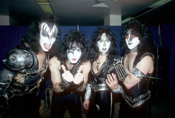 Kiss' Road to the Rock and Roll Hall of Fame Pictures - Kiss and Make-Up | Rolling Stone