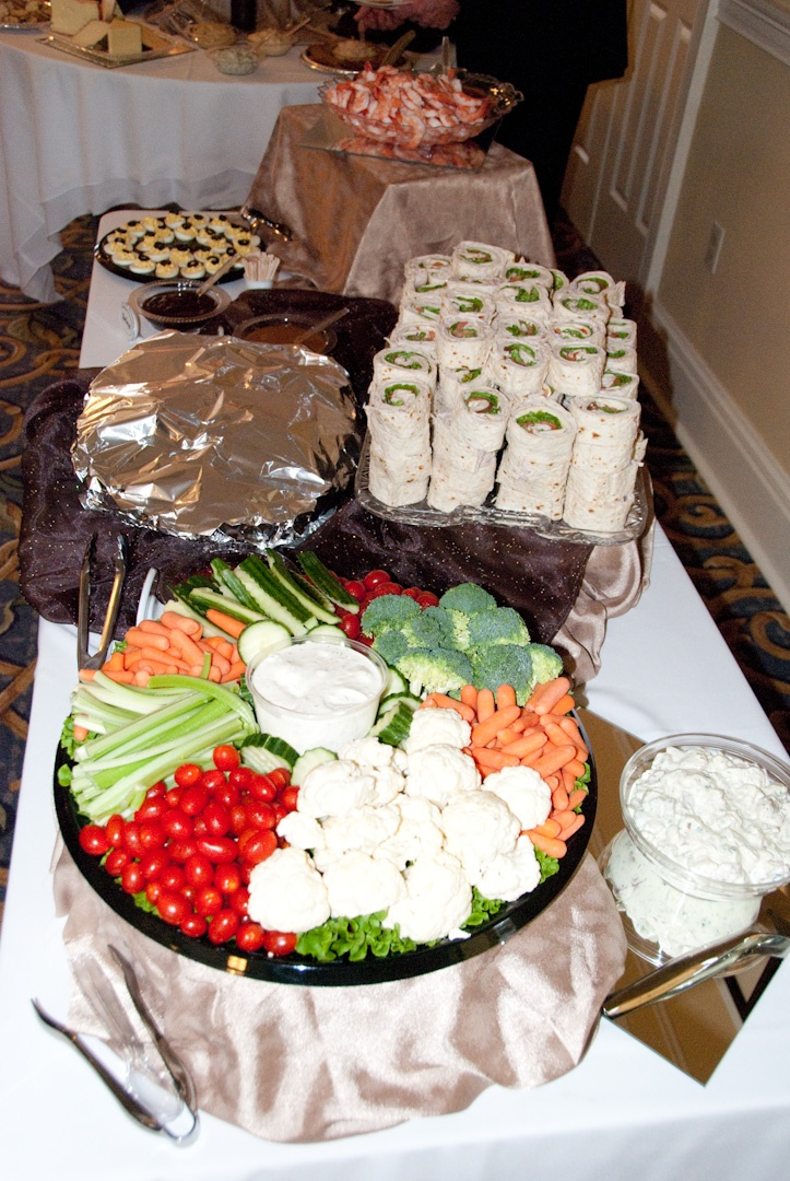 food catered from costco u0026 39 s catering service  food also by