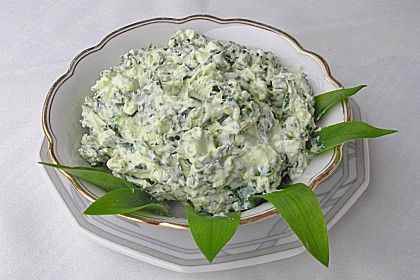 Bärlauch - Schafskäsecreme 1