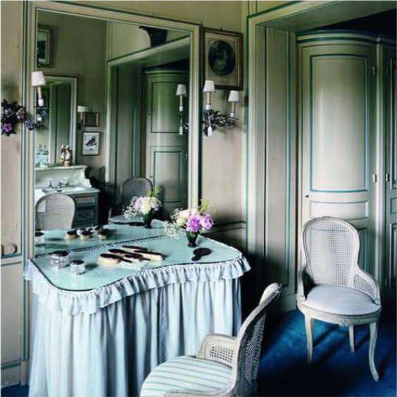 Chateau de Groussay, Italianate House near Chantilly, France.World of Interiors Sept 2011