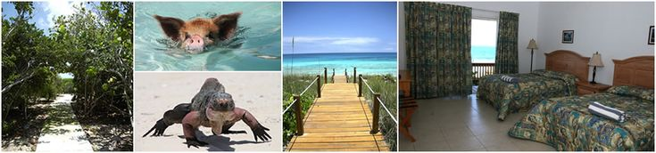 St Francis Resort, Exuma- $1175 including breakfast. +5 Mile Beach +Snorkeling, sailing, kayaking included +Nature trails +Rooms have beach/ocean view +Rooms have AC, fridges -1 restaurant/bar -Menu pretty basic