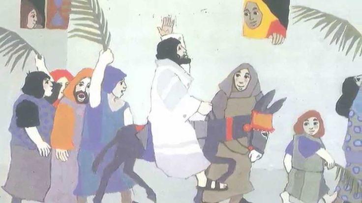 Het Paasverhaal verteld door Andrea van de Wetering. Videobewerking Henry Lamain