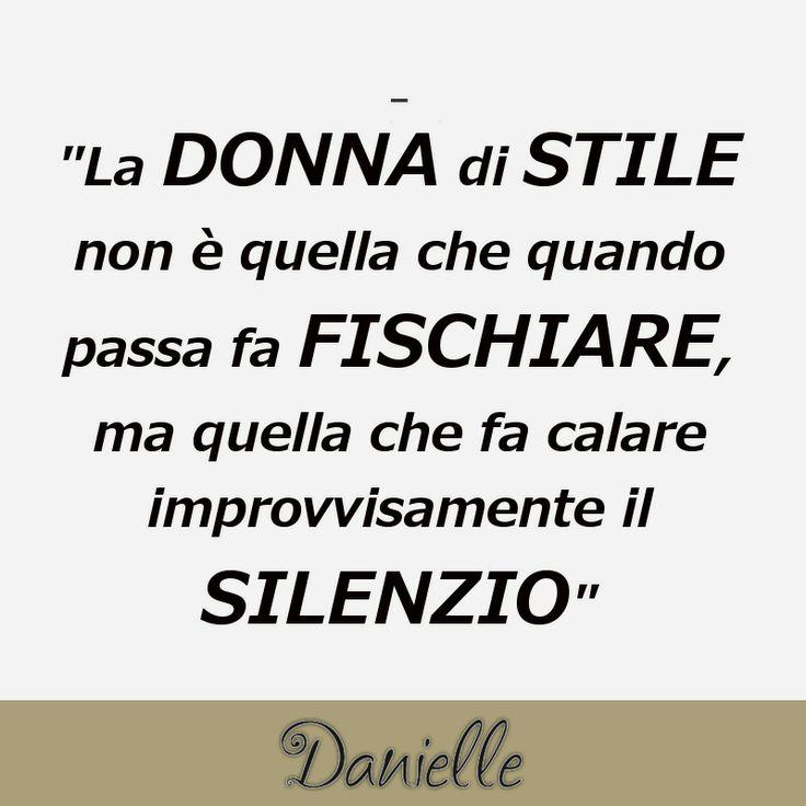 TUTTA QUESTIONE DI STILE!!!