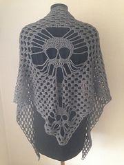 Ravelry: Hodeskallesjal/Skullshawl pattern by Elena Rise