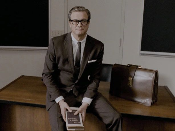 "Colin Firth in Tom Ford - ""A Single Man."""