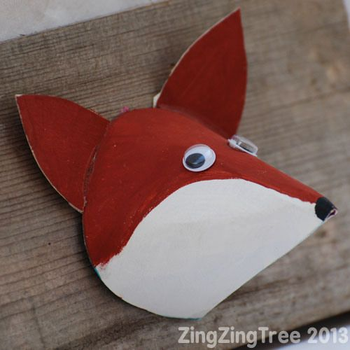 Cute Autumnal Woodland Animal Craft Kidcrafts Animal Crafts For
