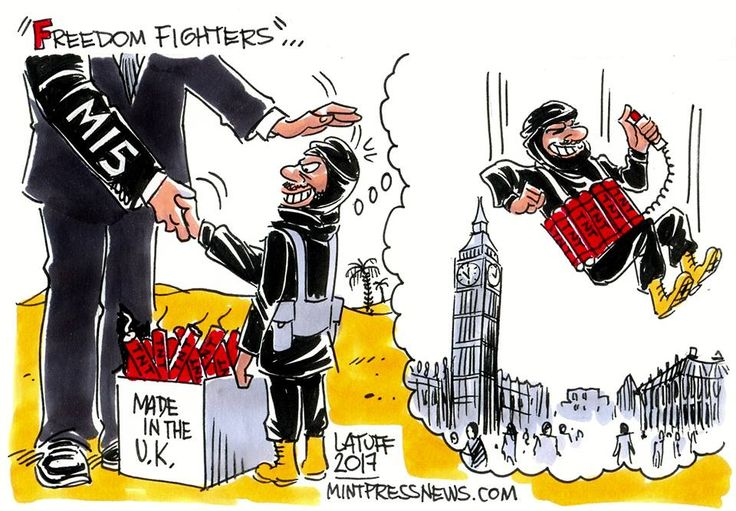 Carlos Lattuff On Manchester Attack.http://www.mintpressnews.com/comic/britains-freedom-fighters/