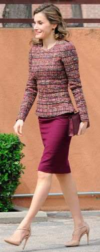 21 Mar 2017 - Queen Letizia attends Royal Board on Disability meeting