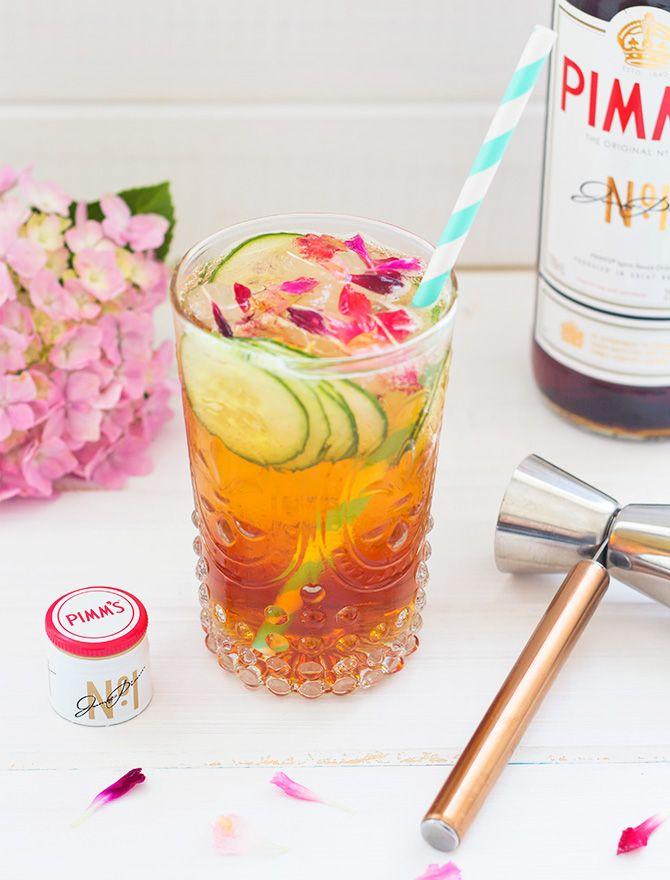Thursday Tipples 11 / The Garden Party Cocktail - Spicyicecream