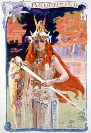 Brunnhilde by Gaston Bussiere