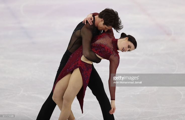 Tessa Virtue and Scott Moir of Canada compete in the Figure Skating Team Event Ice Dance Free Dance on day three of the PyeongChang 2018 Winter Olympic Games at Gangneung Ice Arena on February 12, 2018 in Gangneung, South Korea.