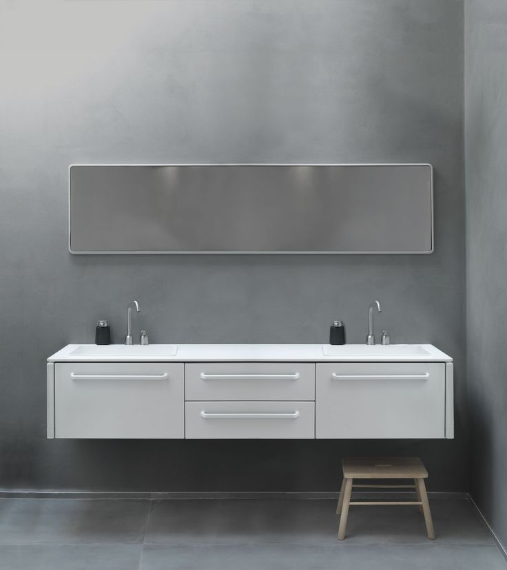 """""""Ever since Holger Nielsen in 1939 created the Vipp bin Vipp has acted on functional products for the bathroom and kitchen. It has long been our dream to expand our bathroom concept with a range of bathroom modules that match our accessories in form and function """"- Kasper Egelund, CEO and grandson of Holger Nielsen. Vipp Bathroom is available in three sizes and are made of powder-coated stainless steel with details like rubber grip, Corian® countertop with integrated sink and faucet in…"""