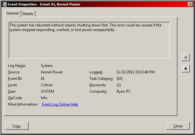 Feeling Annoyed As Encountering Windows Kernel Event Id 41 Error