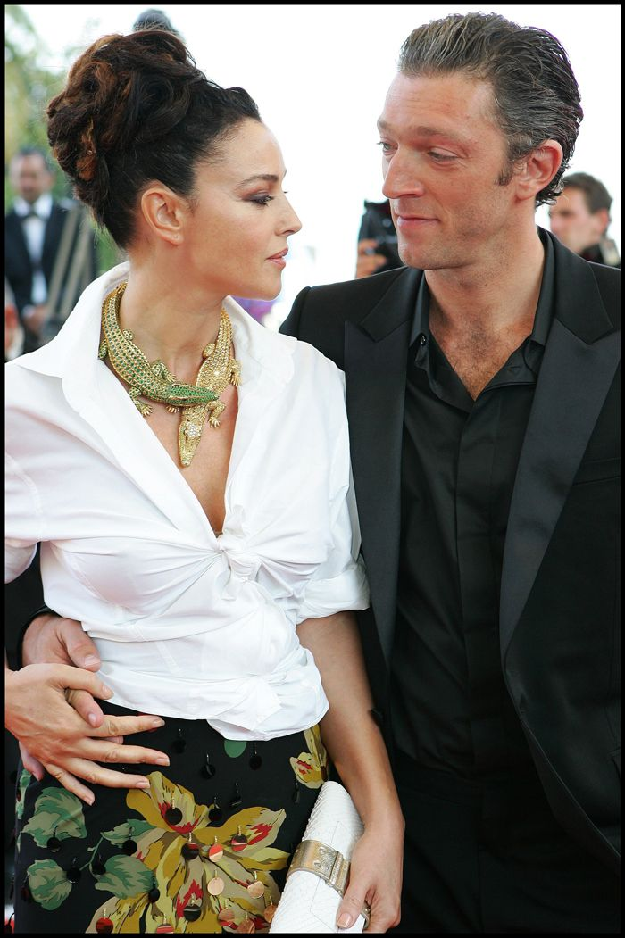 Monica Bellucci is ROCKING this look!