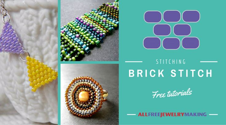 Find brick bead stitch patterns and DIY jewelry that uses this bead stitch! Learning new bead stitching patterns such as brick stitch is a cinch with these tutorials.