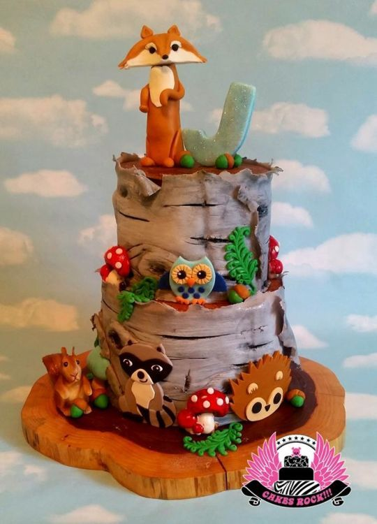 141 Best Images About Cakes Forest Camping On Pinterest