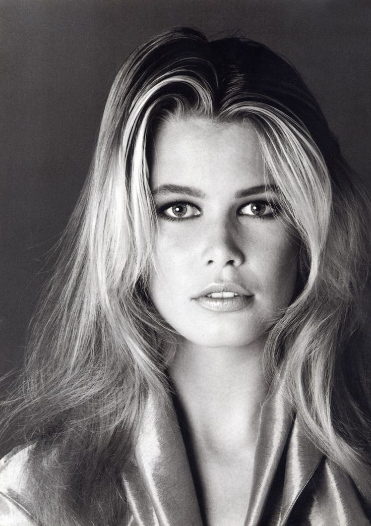 Claudia Schiffer  by Francesco Scavullo