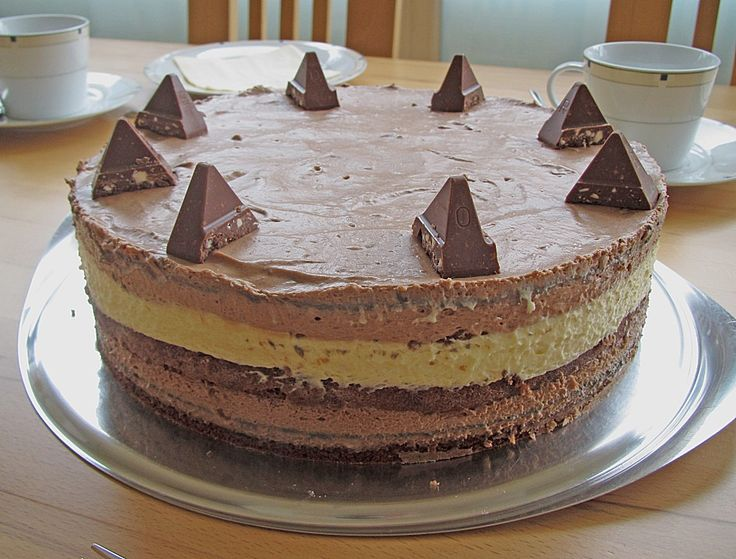 Beste Rezeptesammlung: Toblerone Mousse Torte