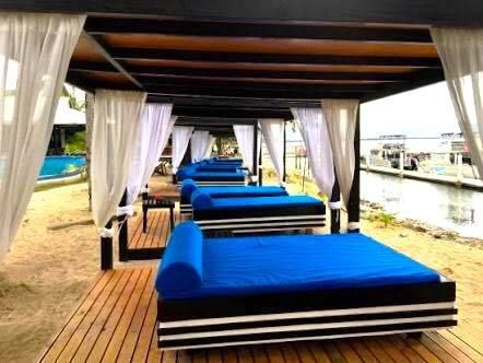 You can do everything or simply lounge yourself in one of these ocean view cabanas...your choice! #anchoragefiji #holiday http://www.anchoragefiji.com/