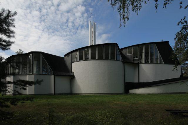 Church of the Three Crosses : Vuoksenniska Churrch, Imatra Finland (1956-58) | Alvar Aalto