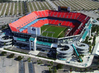 Sun Life Stadium (Miami, Florida) for the BCS National Championship #PrivateGallery #PGWishList