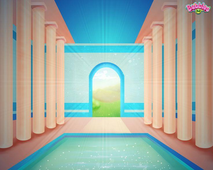 Grecian theme. Check out our latest backgrounds & themes and join the bubble poppin' fun! Play #BubblesIQ: www.bubblesiq.com