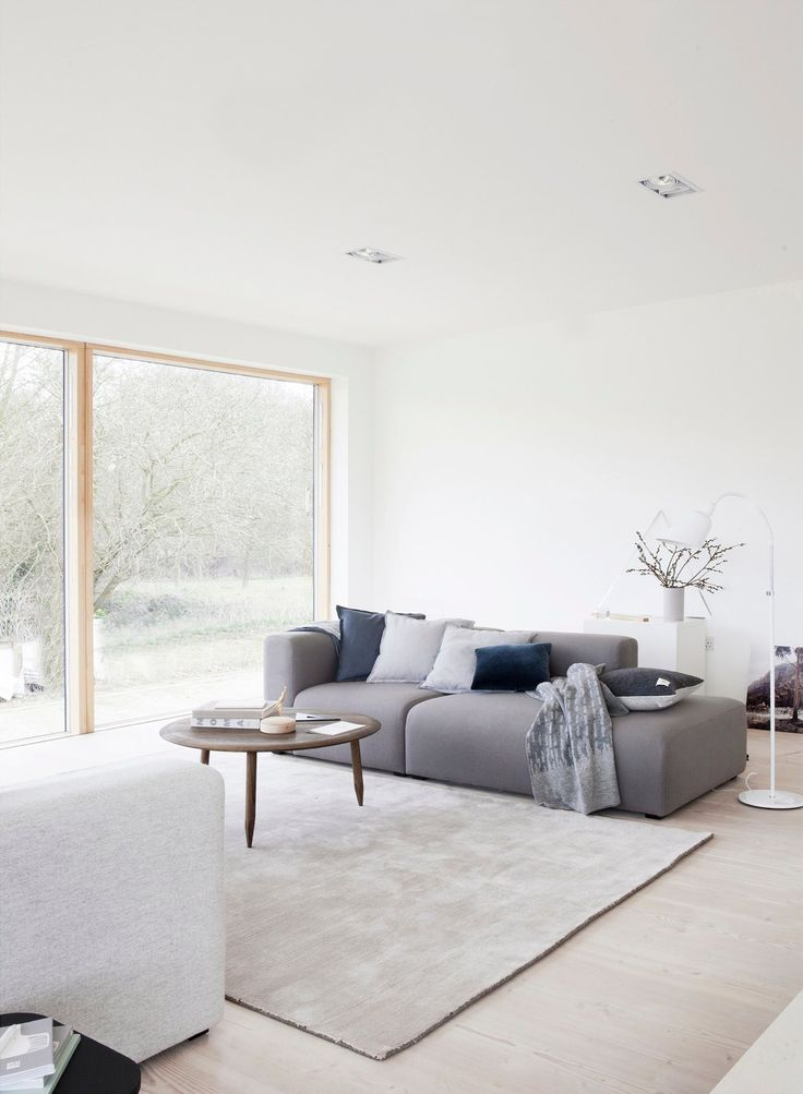 Reydon Grove Farm By NormArchitects Feature With Tradition Bellevue AJ2 Floor Lamp Space ProjectsLiving Room