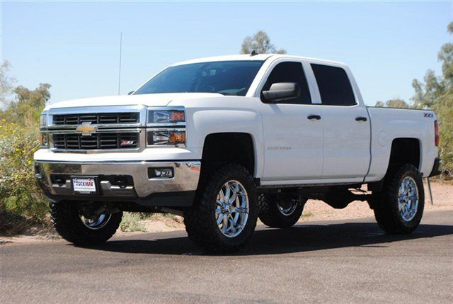 2014 Chevy Silverado Z71 Lifted | ... Lifted 2014 Chevy Silverado 1500 Crew Cab 4×4 Z71..lifted Chevy fucking love it!