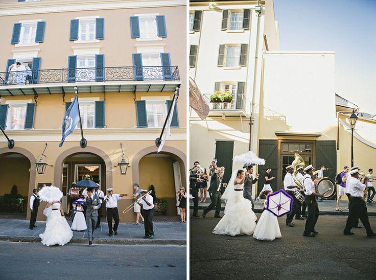 A Festive New Orleans Wedding
