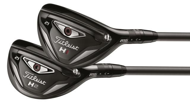 Titleist 816 H1 and H2 Hybrids