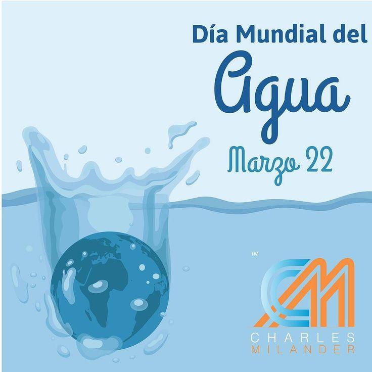 Día Internacional del Agua #22Marzo #agua #planeta #naturaleza #charlesmilander